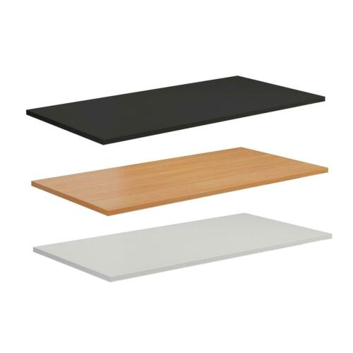 Allcam MFC 1200x800 mm Desk-top  in White for home// office sit-stand desk frames