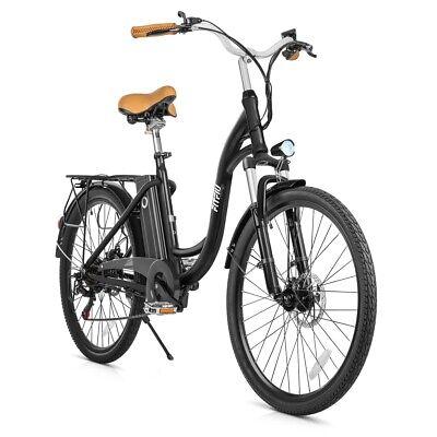 "Bicicleta electrica Vintage 26"" 250W bateria SAMSUNG 36V cambio Shimano -FITFIU"