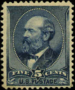 1888-US-216-A56-5c-Mint-Original-Gum-Stamp-Catalogue-Value-200