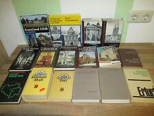16 Bücher DDR Kunstdenkmäler, Reisehandbuch, Tourist-Führer Sammlung Paket