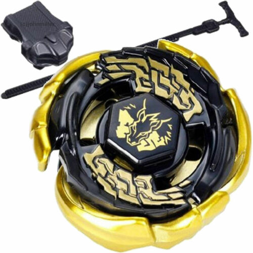 BB70 Beyblade Gold Galaxy Pegasus 4D Metal Fusion Constellation with Launcher