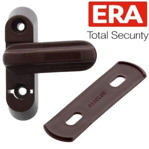 Brown-Window-Jammer-Wood-Frame-Door-Lock-Blocker-Restrictor-INSURANCE-COMPLIANT