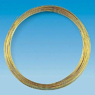 Fäden /& Bänder 0,4 mm 15 m Bastel  /& Künstlerbedarf  Schmuckherstellung  Drähte