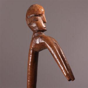 6382-Old-Lobi-ritual-stick-figural-metal-display-includ