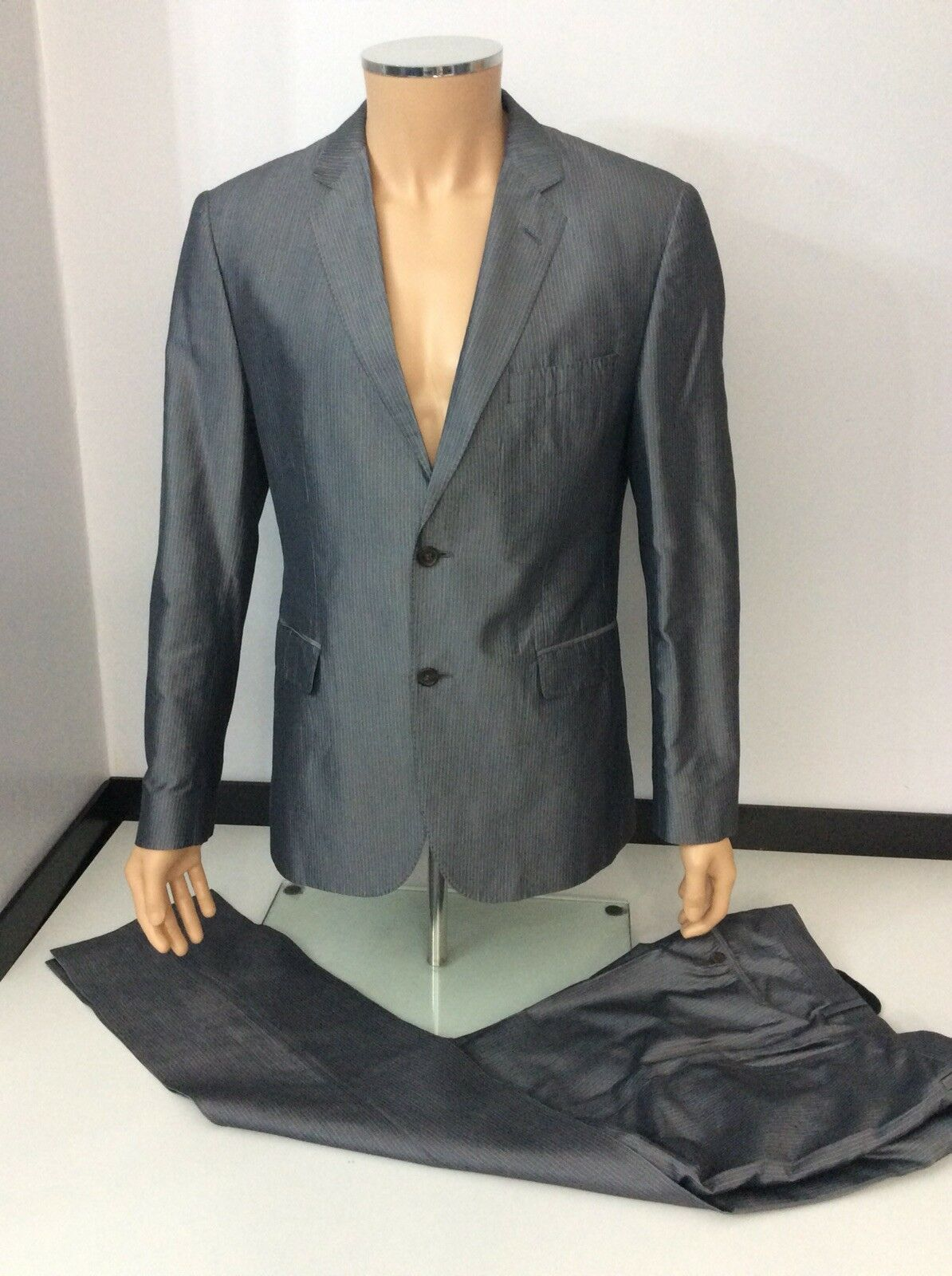 e19b47d62 Hugo Boss Eagle 2 Piece Grey, Size 42, Medium, Blazer & Trousers ...