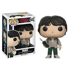 "Funko Pop Stranger Things Mike with Walkie Talkie #423 3.75"" Vinyl Figure NIB"