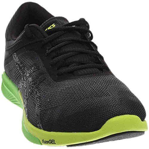 dc19c9fca841 ASICS Men s Fuzex Rush Running Shoe Carbon black safety Yellow 14 M ...