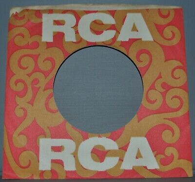 """1x 45 Rpm Rca Victor Paisley Company Sleeve Original Record Sleeves 7"""" And To Have A Long Life. Music"""