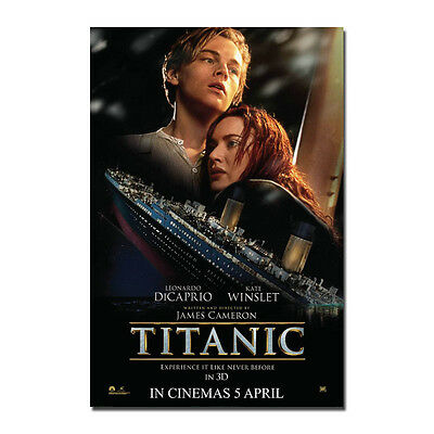 TITANIC Movie Art Silk Poster 12x18 24x36