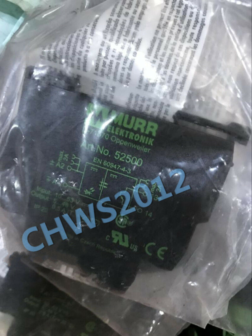 1PCS NEW MURR relay 52500 52500