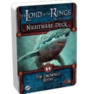 Actif Le Seigneur Des Les Anneaux Lcg - The Drowned Ruines Nightmare Deck Blanc De Jade