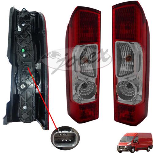 Rücklicht Rückleuchte mit Lampenhalter rechts+links Set Satz Paar Fiat Ducato