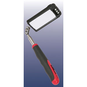 Ullman Devices Htk 2lt Led Rectangular Inspection Mirror