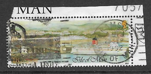 ISLE OF MAN POSTAL ISSUE USED COMMEMORATIVE STAMP  1992 EXTENSION OF HARBOURS - Birkenhead, Merseyside, United Kingdom - ISLE OF MAN POSTAL ISSUE USED COMMEMORATIVE STAMP  1992 EXTENSION OF HARBOURS - Birkenhead, Merseyside, United Kingdom