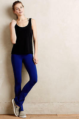 Good Compression Skirted Crop Leggings made in USA NEW sz L Anthropologie Pure