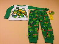 Teenage Mutant Ninja Turtles Toddler Boy Long Sleeve Pajamas 24 Months Tmnt