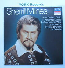 SHERRILL MILNES - Grandi Voci - Excellent Condition LP Record Decca 411 976-1