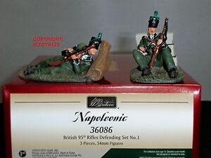 Britains 36086 British 95th Rifles Ensemble de figurines en défense en métal, 1 884101360863