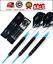 Soft Tip Darts Viper Dart Set Grip Tips 18 16 Flights Tungsten Blue 3Shaft New