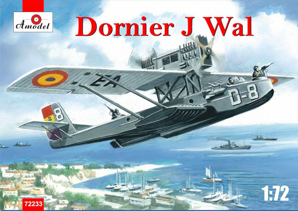 Amodel 1 72 Dornier Do-J Wal Spain Republican Air Force