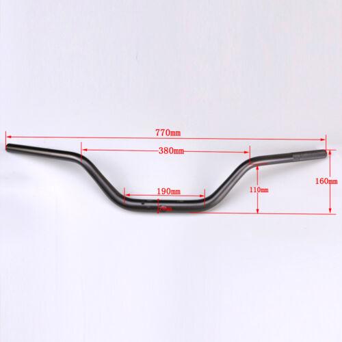 "1 1//8/"" 28mm Mid Handlebar Handle Fat Bars Pit Bike Motorcycle Enduro ATV MX"