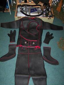 Diving-Suit-Nva-GDR-German-Commando-Frogmen-Ksk-18-Stz-Gr-1-Children