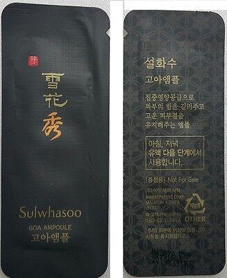 Sulwhasoo GOA Ampoule 30ml (1ml * 30pcs) K-Beauty Skin Care Anti Aging