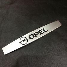 2 x Auto Metall Emblem Logo Schriftzug Aufkleber Badge für OPEL