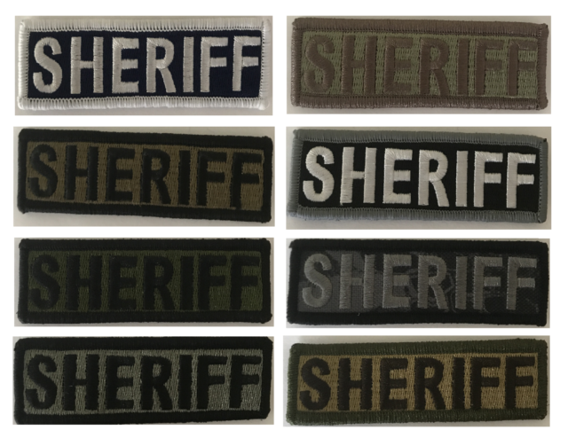 """BuckUp Tactical Morale Patch Hook Police PD Officer Morale Patches 3.75x1/"""""""