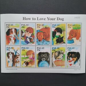 Palau 1999/ Fauna - Domestic Animals - Guidance for Dog Ownership / 10v  s/s mnh