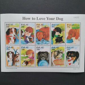Palau 1999/Fauna - Domestic Animals - Guidance for Dog Ownership / 10v s/s mnh