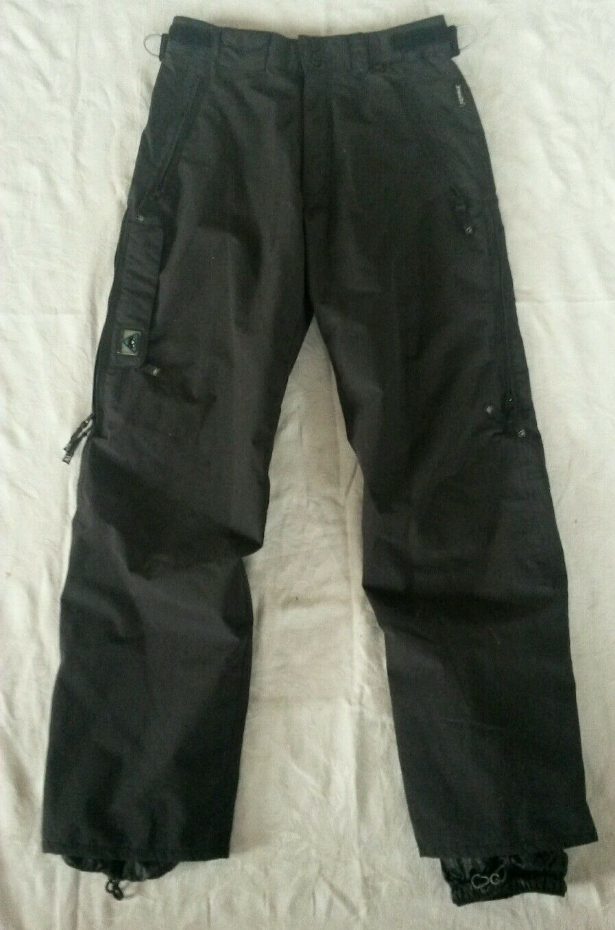 Great, K2 Outerwear pants,Sympa-tex,taped seams,leg vents,women M,ski snow board