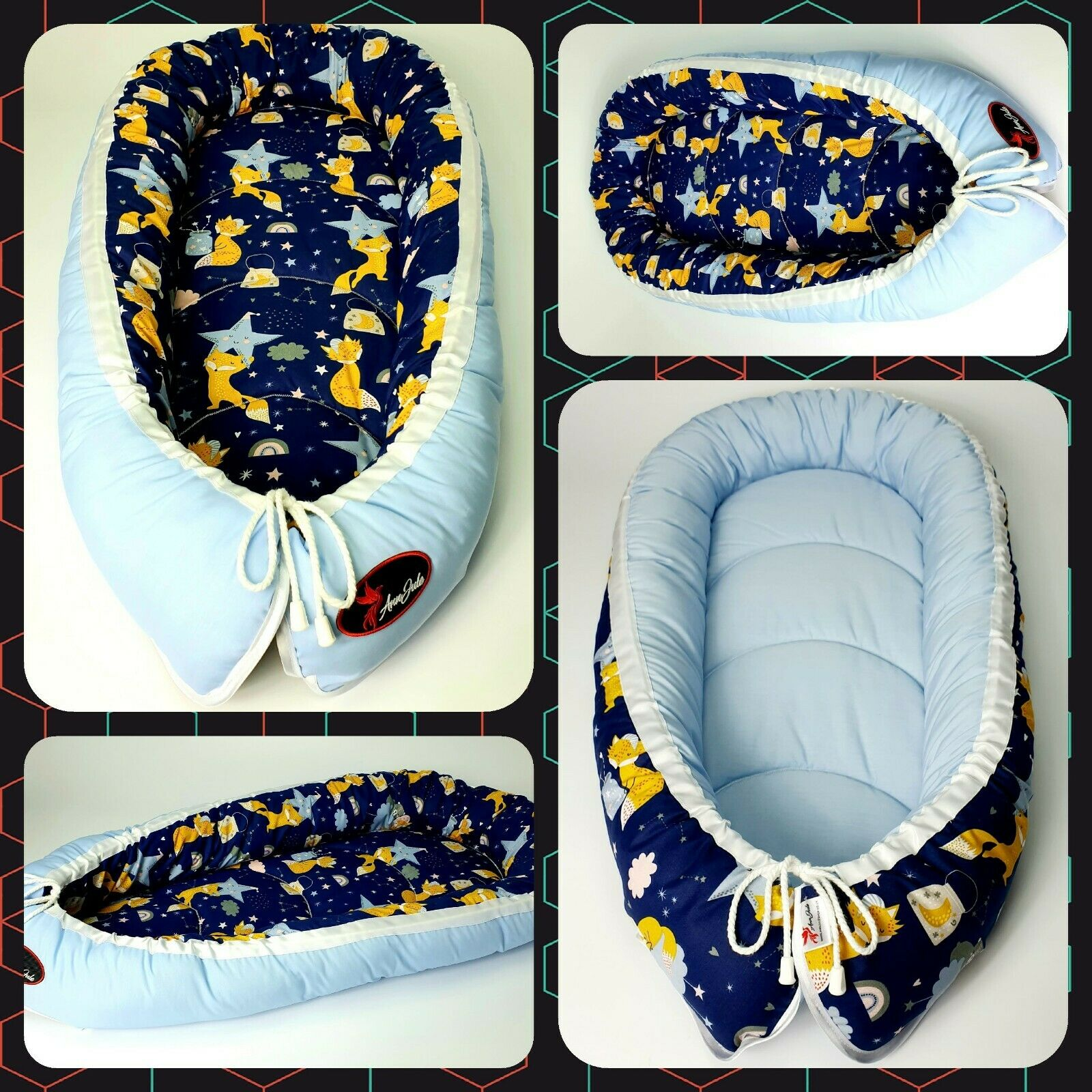 BABY NEST POD COCOON normal size 0-6 m HIGH QUALITY CHRISTMAS SALE! WAS £25.99