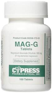 Cypress-Mag-G-Magnesium-Gluconate-500mg-Expiration-Date-01-2021