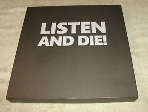 Listen and Die! SIX LP BOX SET - Looks Unplayed - Limited - Marco Corbelli