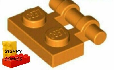6 x LEGO 2540 Plaque Poignée rouge, red Plate 1x2 Handle On Side NEUF NEW