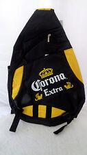 Corona Extra Black Sling Backpack Black Corona Beer
