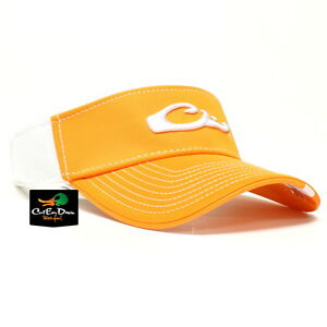 355bebbbeaefc Image is loading DRAKE-WATERFOWL-GAME-DAY-FITTED-VISOR-TENNESSEE-ORANGE-