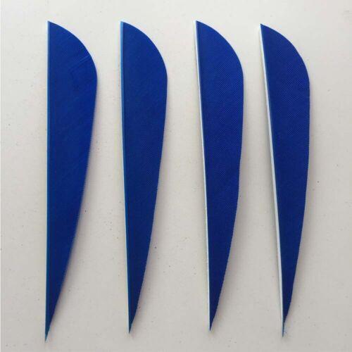 36pcs 4Inch Parabolic Vanes Fletches Fletching Feather RW