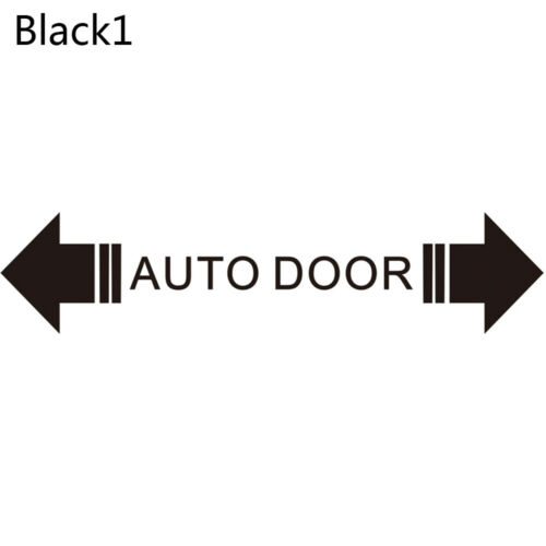 Automatic Home Auto Door Warning Caution Please Do Not Pull Decal Car Sticker