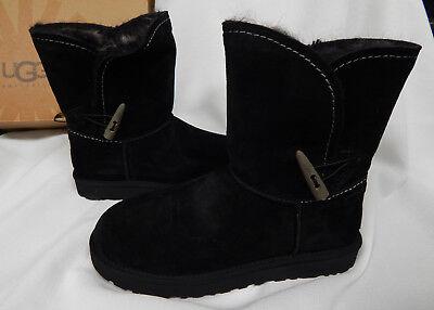1ee83eabd92 New in Box Women's UGG Meadow Boots Water Resistant Suede, Black, 1008043 |  eBay