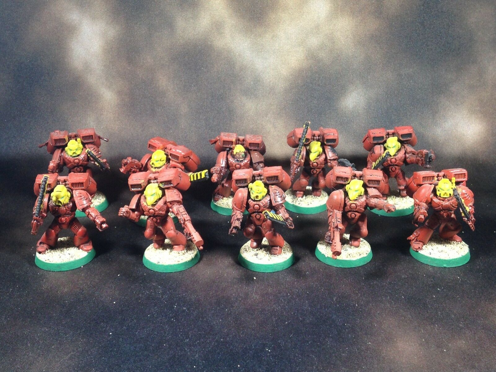 Warhammer 40k Space Marines Blood Angels Assault Marines