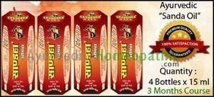 4-x-Sanda-oil-for-Men-039-s-Enlargement-Stronger-Erection-Herbal-Masage-Oil