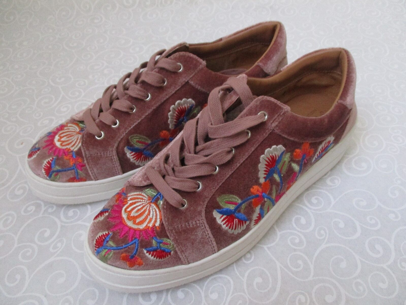 STEVNATURAL COMFORT NC NITRO BLUSH EMBROIDEROT 9 SNEAKERS Schuhe SIZE 9 EMBROIDEROT 1/2 M 62d4c4