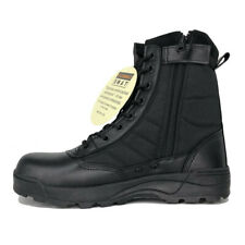 Condor Garner Tactical 235002 Mens Black Leather Military Combat Boots Shoes 7.5