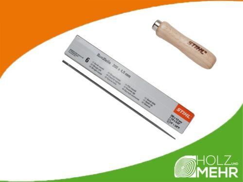 Holz Feilenhalter für Sägeketten4,0 mm 5605 771 4006 STIHL Rundfeile 6 St