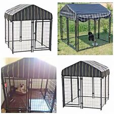 "Xxl Dog Kennel Dog Cages Extra Large Kennels Outdoor Crate Pet 4'6""H x 4'W x 4'W"