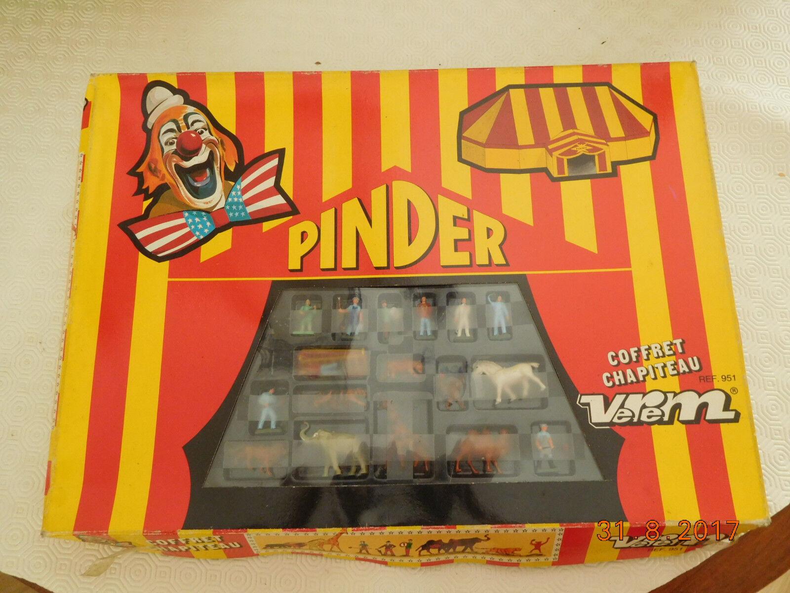 VEREM  cirque Pinder,coffret chapiteau rèf 951