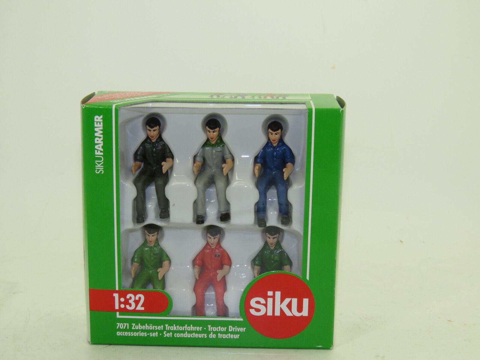 Siku 7071 Zubehoerset Pilote Tracteur 1 3 3 3 2 Nouvelles Emballage D'Origine 865326
