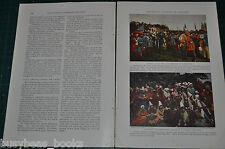 1932 magazine article about JOAN Of ARC, Compiegne France, 500th anniversary